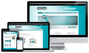 Shedeze Website - Sydney Web Design