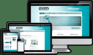 Shedeze Website - Sydney Web Design
