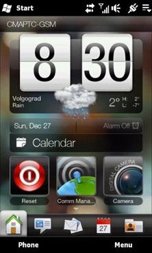 Windows Mobile 6.5.3 on HD2