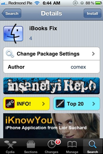iBooks Fix