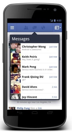 Facebook for Android 2