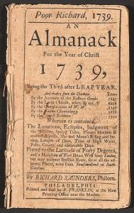 POOR RICHARD'S ALMANAC