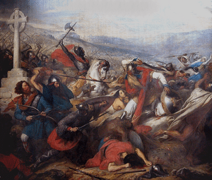Charles Martel at The Battle of Tours