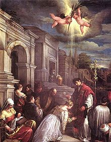 THE BLESSING OF ST. LUCILLA BY ST. VALENTINE