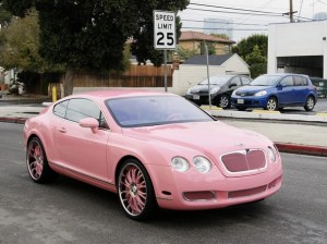 Paris in Her Pepto Bismol Bently, Mary Kay Anyone