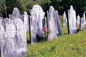 Revolutionary War Tombstones