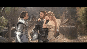 Franco Nero, Richard Harris, Vanessa Redgrave in Camelot