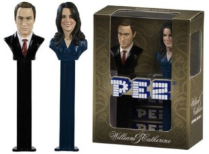 Wills and Kate Pez Dispensers