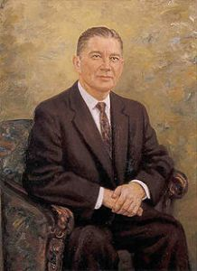Wilbur Mills, the official portrait