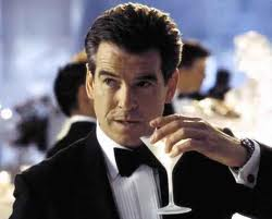 Faux Bond with a Real Martini
