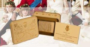 One year old royal wedding cake