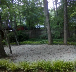 Gravel Party Area