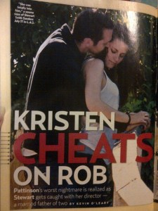 Kristen Cheats on Rob