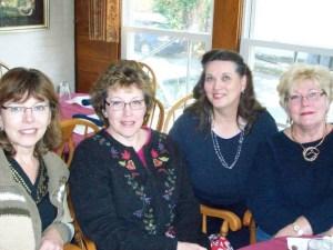 Carol, Susan, Diann, and Linda