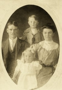 Charles, Ada, Russell, and Vera Brads