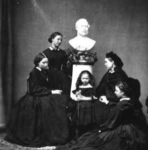 Victoria's Daughters Mourning their father