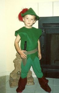 Donovan as Peter Pan