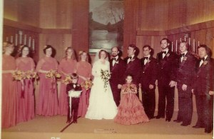 The Wedding Party Just as Gussied UP