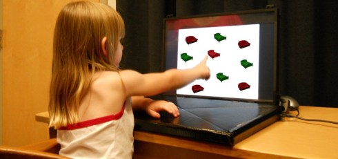 Children Spot Objects More Quickly When Prompted By Words Instead Of Images