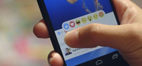 Facebook confirms biggest change to site in years with 'Reactions'