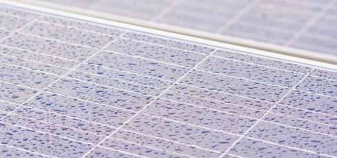 Solar panel breakthrough generates electricity during rainstorms