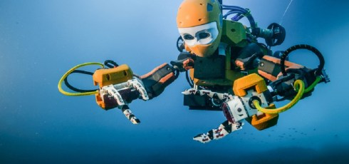 OceanOne–New robotic diver recovers treasure from untouched French ship