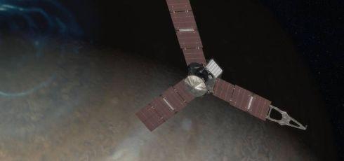 Juno prepares to enter Jupiter's dangerous atmosphere