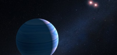 Hubble telescope finds exoplanet orbiting binary star system