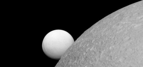 Dione could be Saturn's third moon with a subsurface ocean