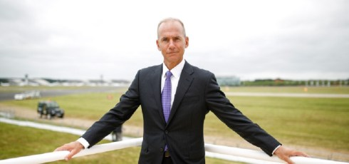 It's official: Boeing's CEO just started a 'Private Space Race'