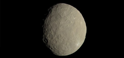 Dwarf planet Ceres is rich with water ice and might have once supported life