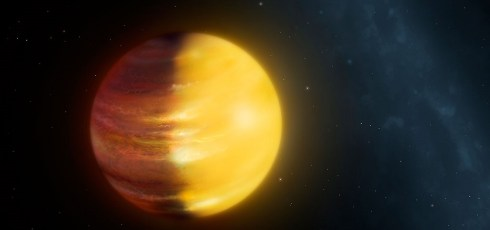 First-ever exoplanet weather report shows high-speed winds and gemstone clouds