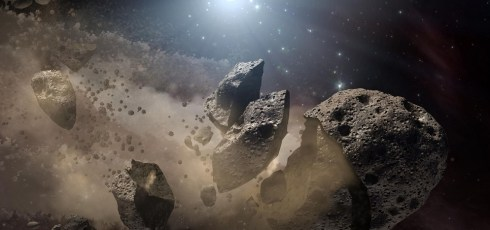Our Sun may be tearing asteroids apart, study finds