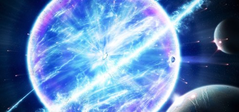 Stellar explosion visible to the naked eye could happen in 2022