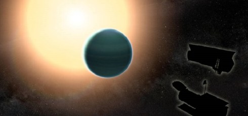 Atmosphere of distant 'warm Neptune' fascinates astronomers