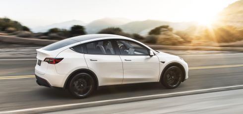 Tesla Releases Winter Tire and Wheel Package for Model Y