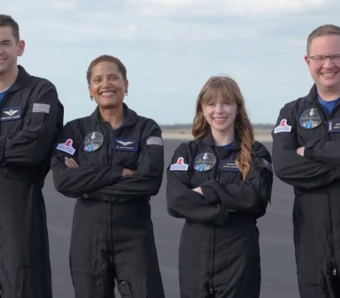 Inspiration4 Finalizes Four-Member Crew for All-Private Space Mission