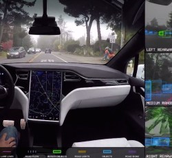 Tesla Vehicle Cameras Capture Footage of Alleged Hate Crime