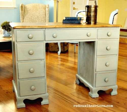 Soft Green Desk Pinterest Redouxinteriors