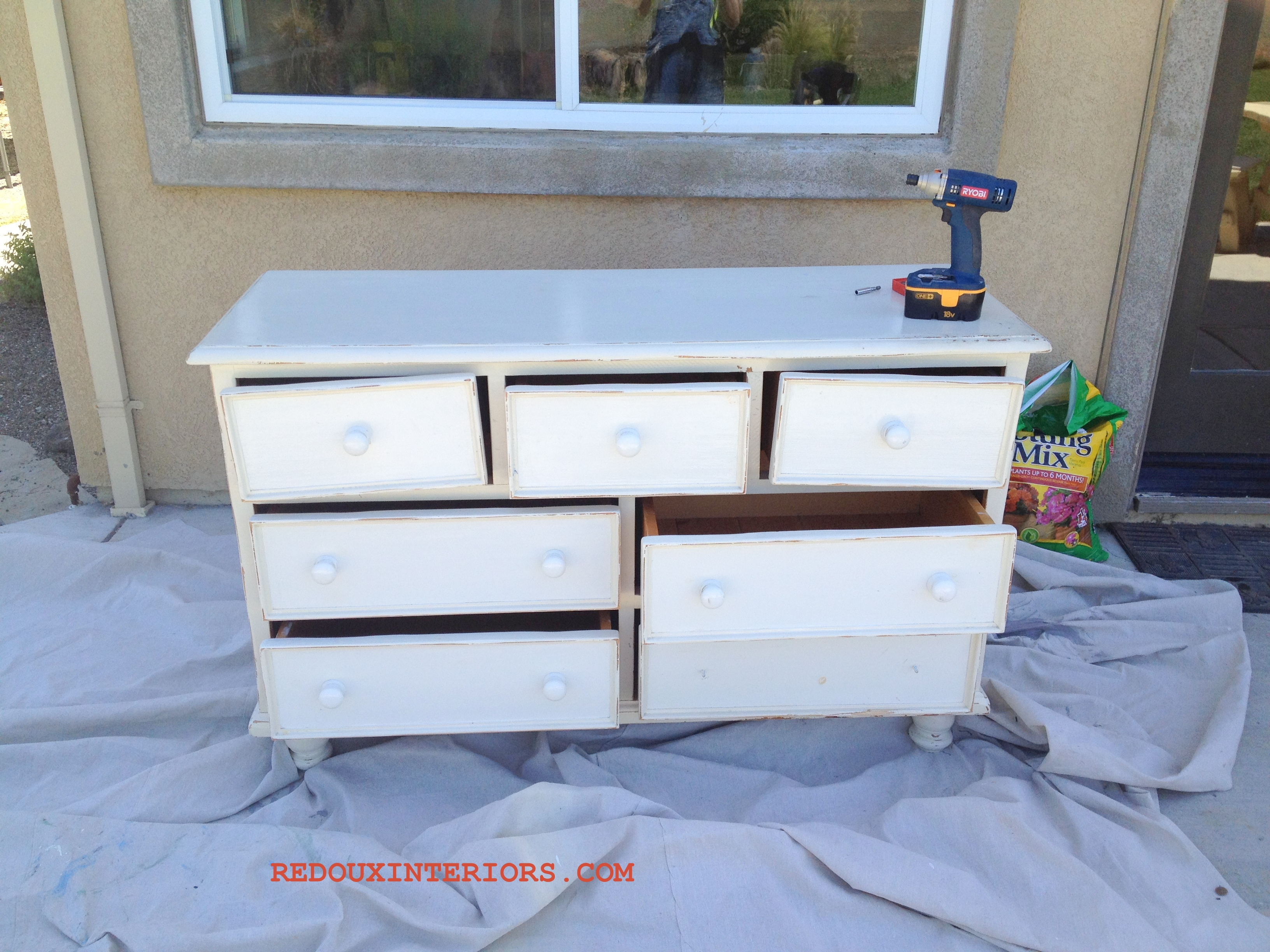 trashy tuesday u2013 country style dresser turned industrial chic