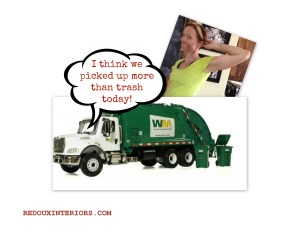 Trashy Tuesday, I did not Fall Off the Dump Truck this week!
