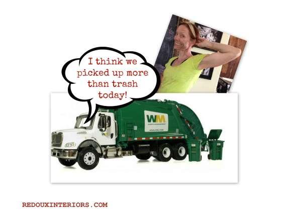 Karen and Garbage Truck