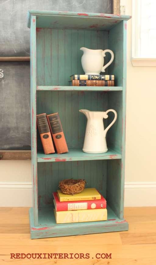 Bookshelf after 1