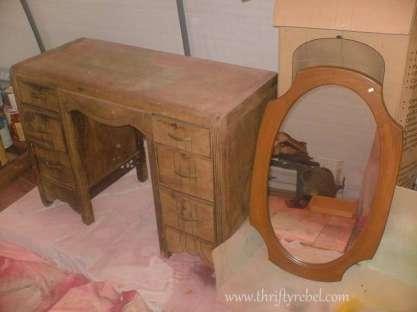 desk & mirror