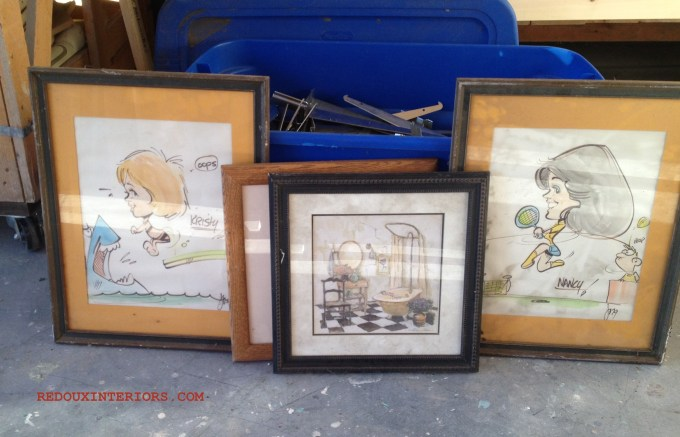 Caricatures and frames