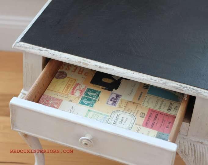 Dumpster Table drawer