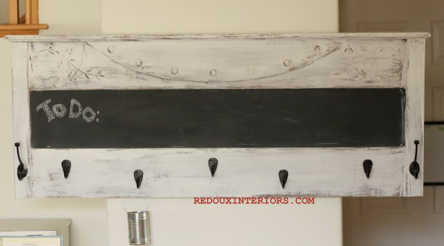 Headboard to coat rack 1