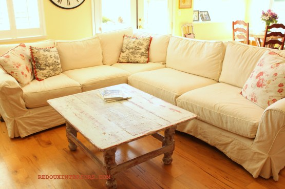 Sectional in White 2