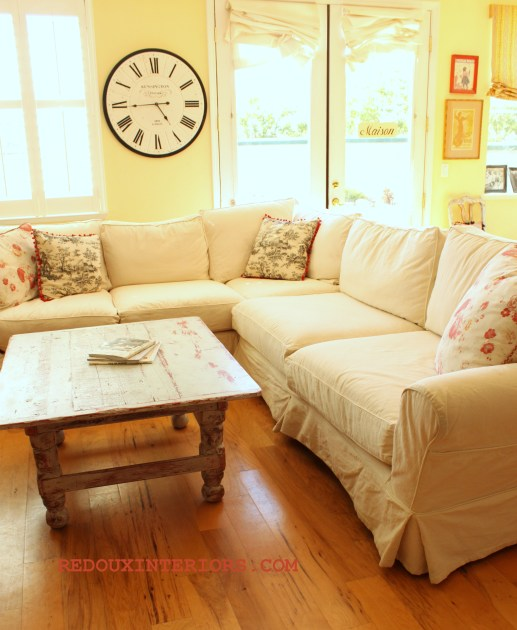 Sectional in White 3