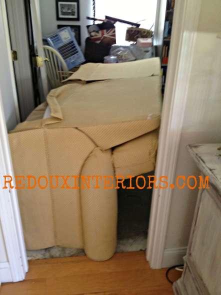Couch stuck in Doorway Redouxinteriors